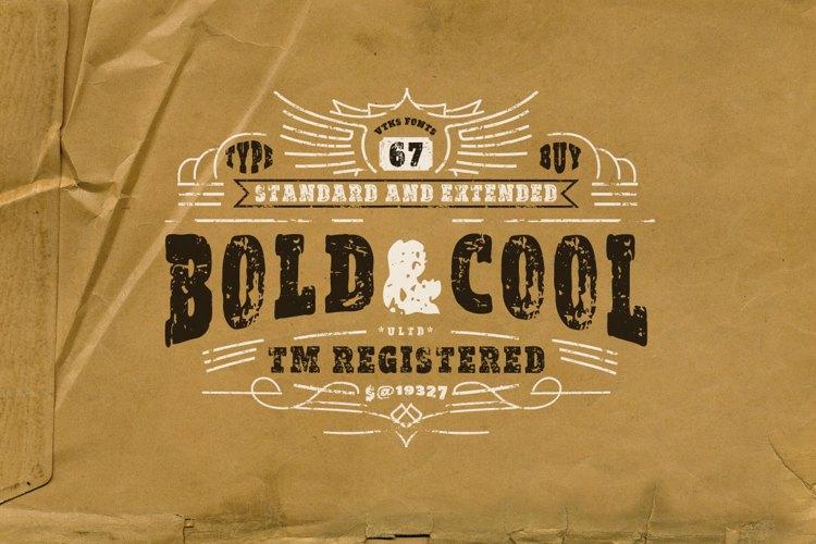 vtks Bold & Cool Font