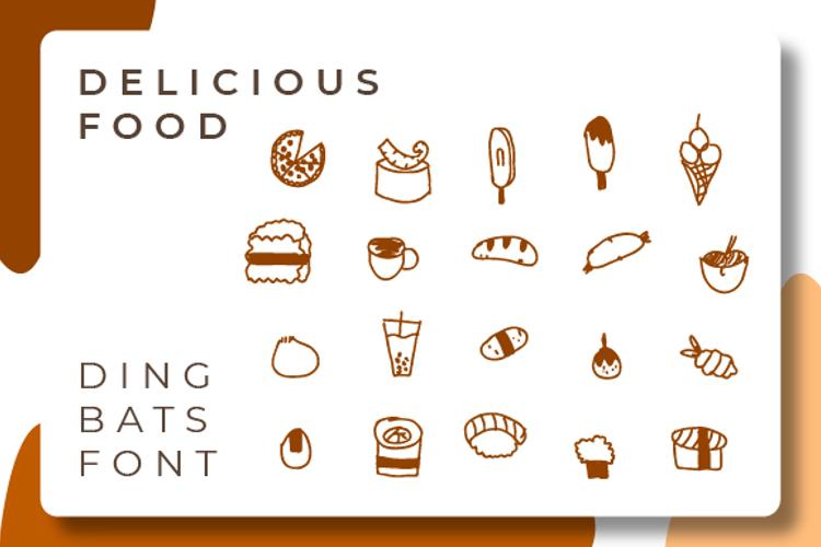 Delicious Food Font