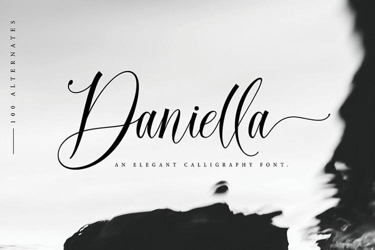 Daniella Script Font