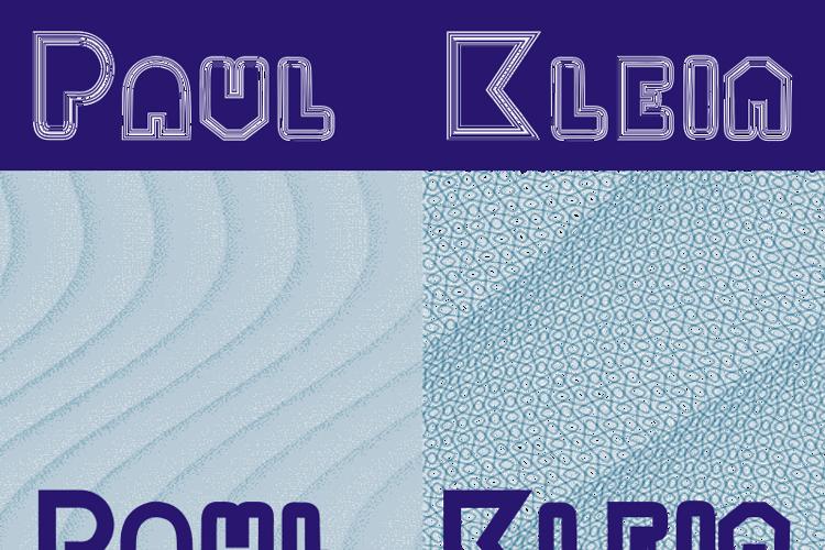 PaulKlein Font