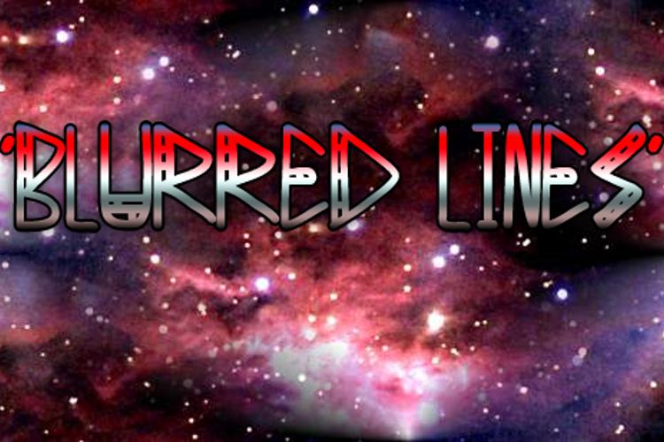 Blurred Lines Font