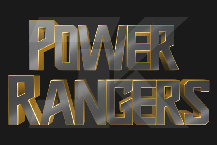 Power Rangers 2019 Font