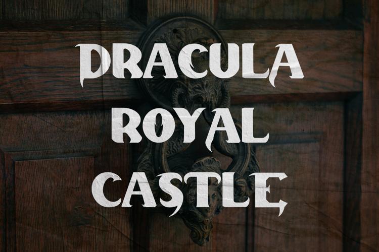 Dracula Palace Font