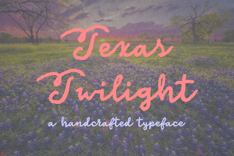Texas Twilight Font