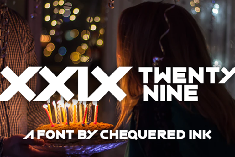 XXIX Font
