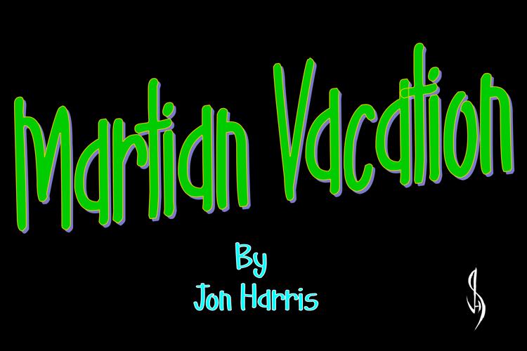 Martian Vacation Font