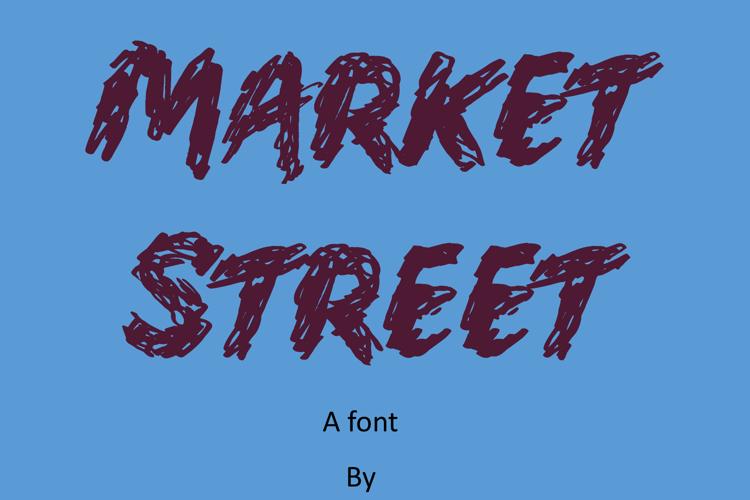 Market Street Font