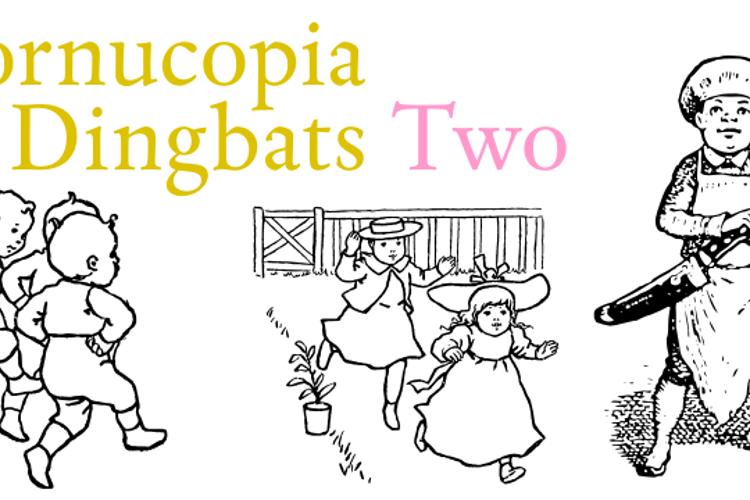 Cornucopia of Dingbats Two Font