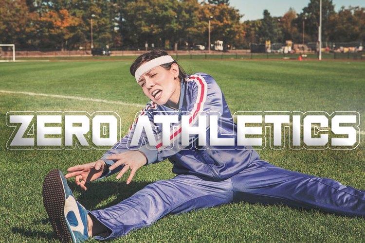 Zero Athletics Font