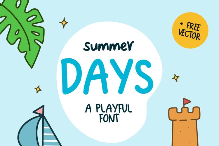 Summer Days Font