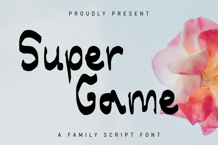 Super Game Font
