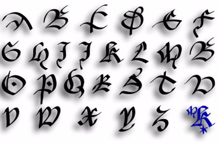 FracturiaSketched Font