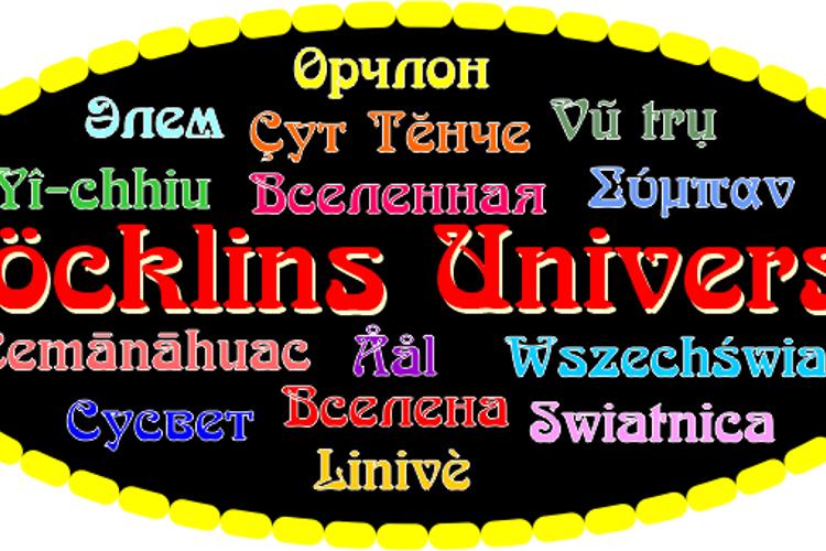 Boecklins Universe Font