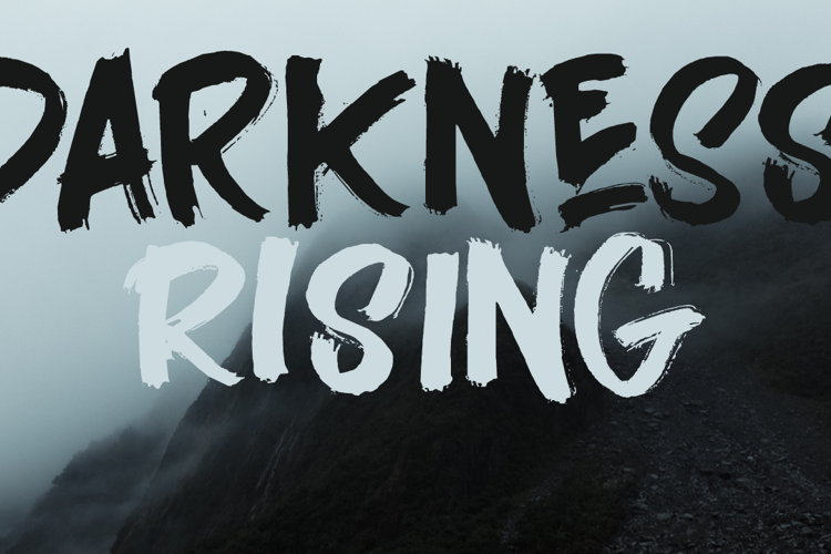 Darkness Rising DEMO Font
