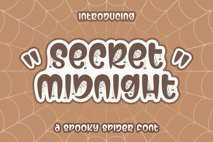 Secret Midnight Font