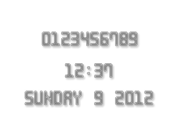 Neon Pixel-7 Font