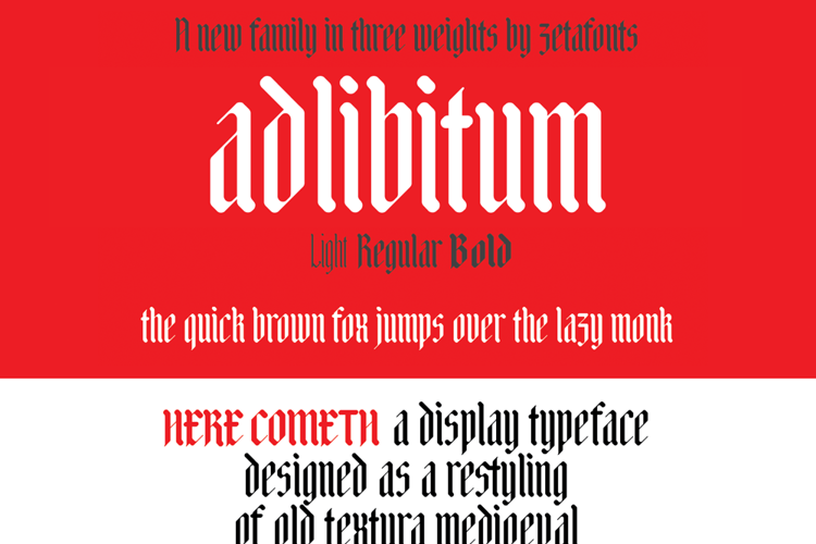 Adlibitum Font