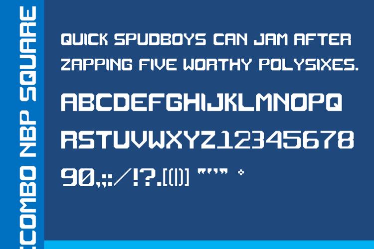 Recombo NBP Square Font
