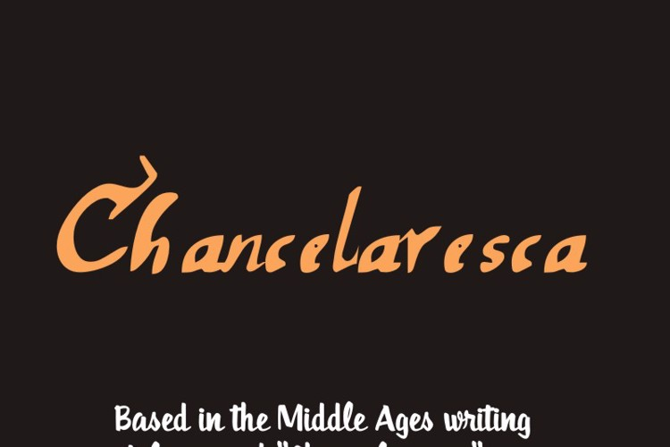 chancelaresca Font