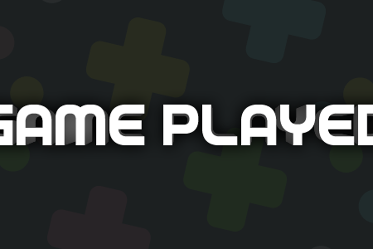 Game Played Font