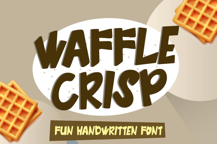 Waffle Crisp Font