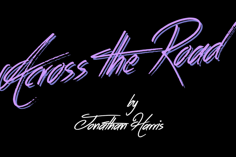 Across the Road Font