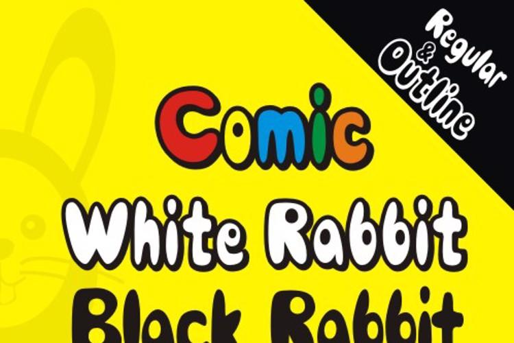Comic Black Rabbit Font