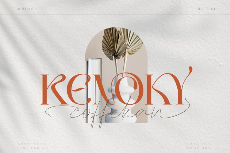 KENOKY Light Font