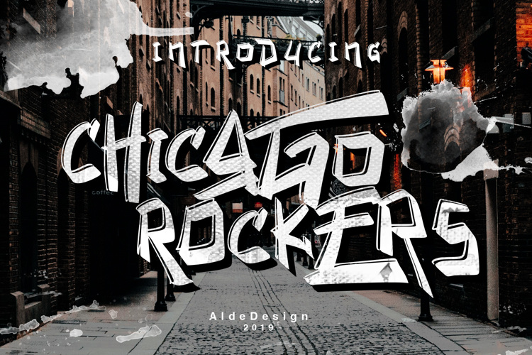 Chicago Rockers Font