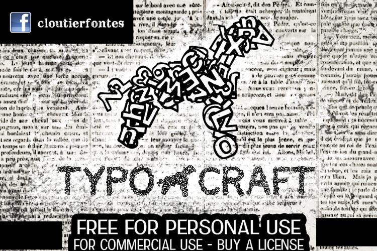 CF TypoCraft Font