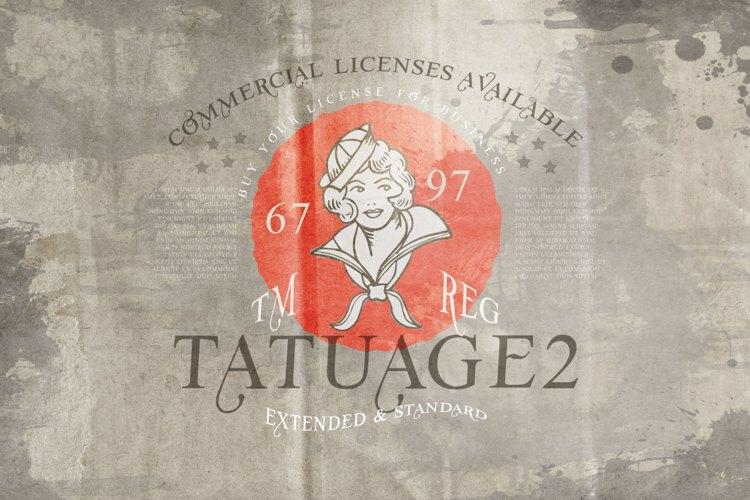 Vtks Tatuage2 Font