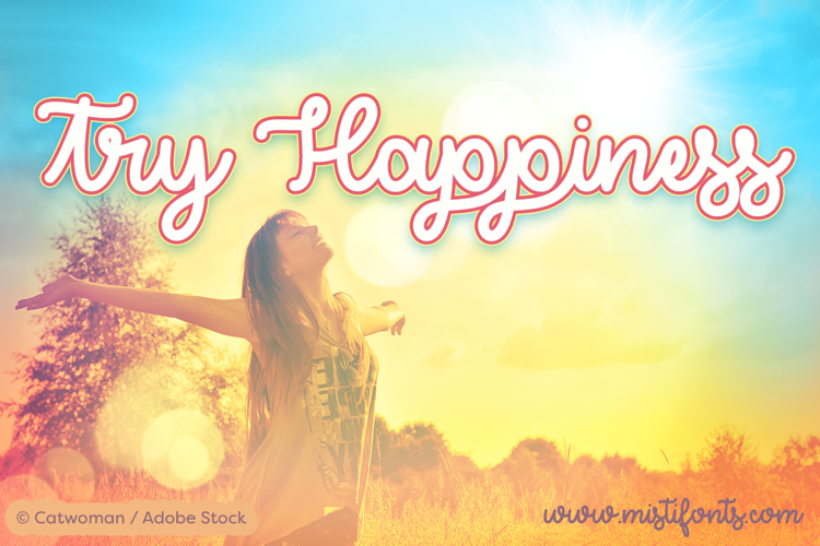 Try Happiness Font