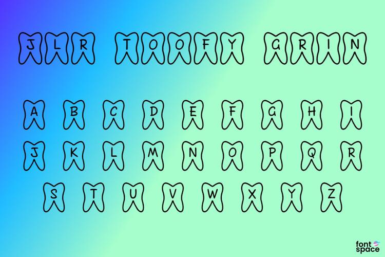 JLR Toofy Grin Font
