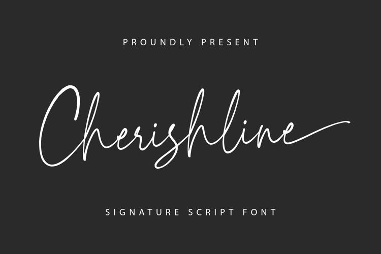 Cherishline Font