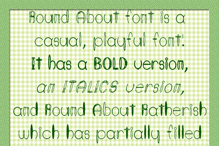 Round About Font