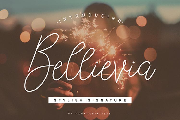 Bellievia Font