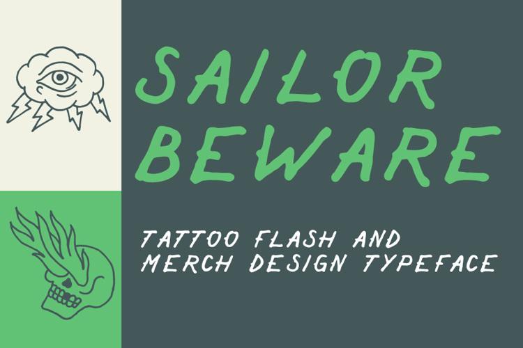 Sailor Beware Font