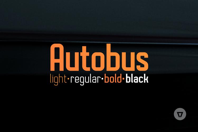 Autobus Bold Font