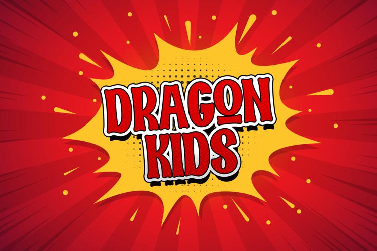 DRAGON KIDS Font
