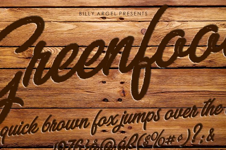 GREENFOOD Font