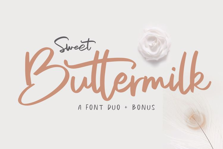 Sweet Buttermilk Font