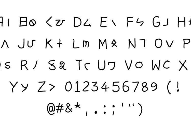 sanskrit katakana Font