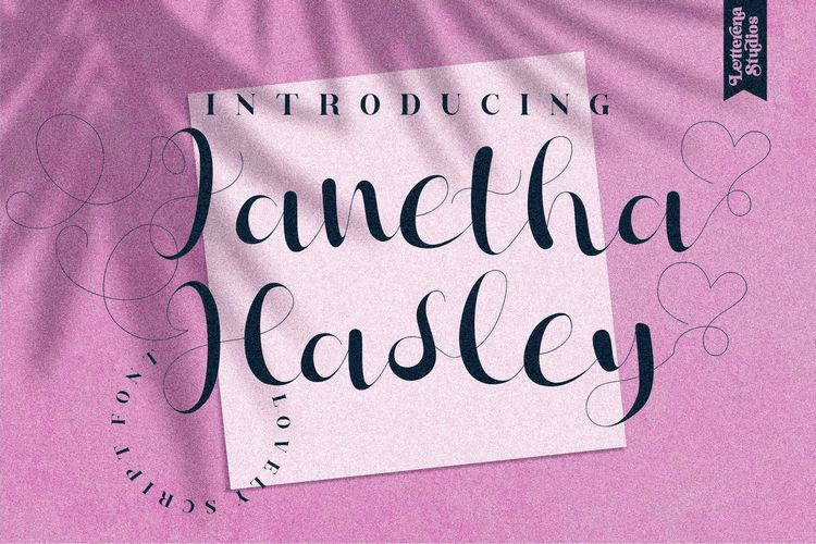 Janetha Hasley Font