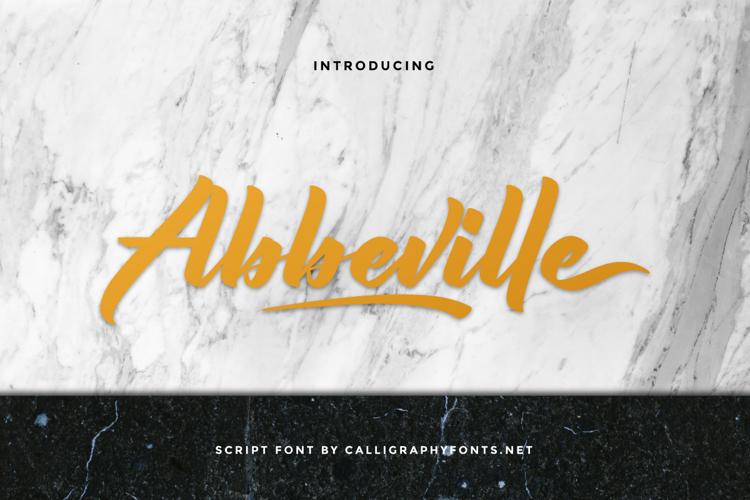 Abbeville Font