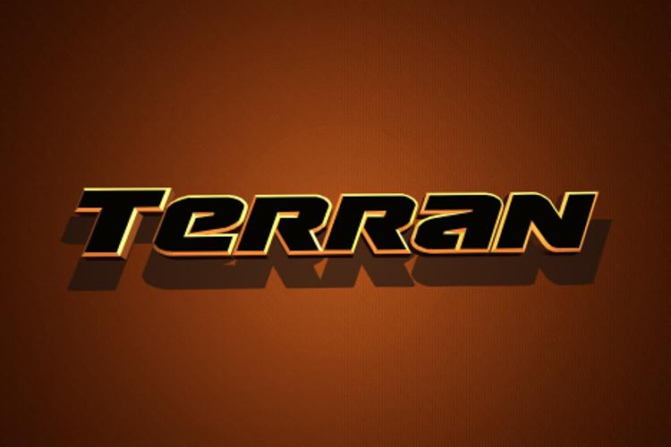 Terran Font
