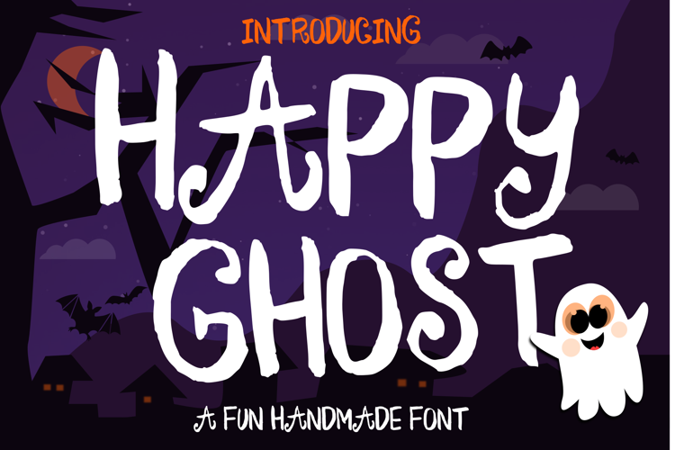 Happy Ghost Font