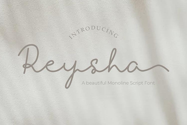 Reysha Font