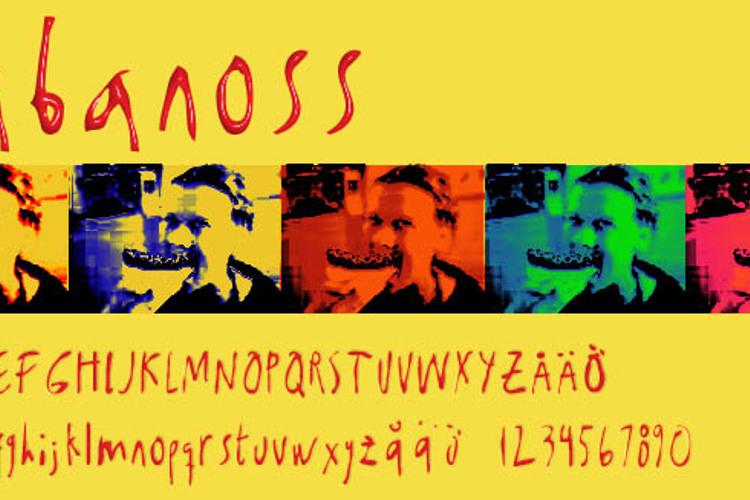 Kabanoss Font
