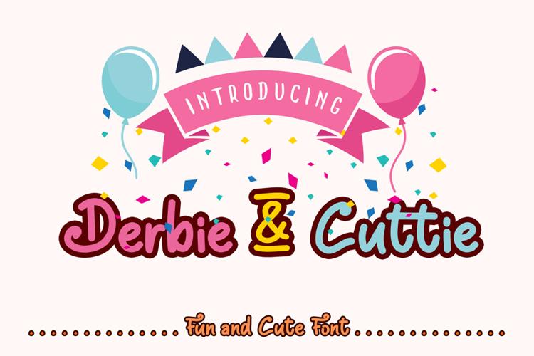 Derbie & Cuttie Font