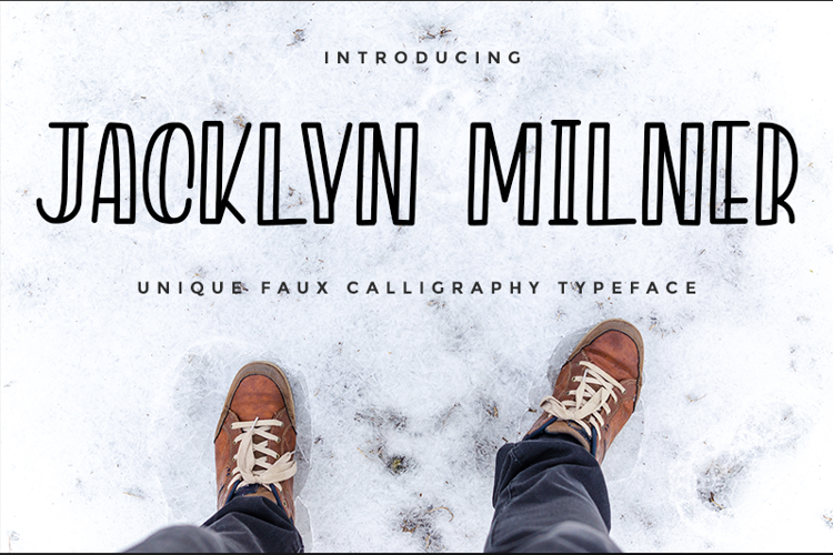Jacklyn Milner Font